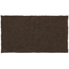 Resort Collection Chenille Plush Loop Bath Mat Collection