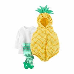 Carter's Pineapple 3-pc. Dress Up Costume-Baby Girls