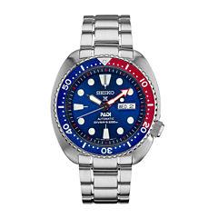Seiko Dive Mens Silver Tone Bracelet Watch-Srpa21