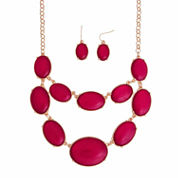 Mixit Red Jewelry Set