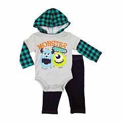 Disney Boys Monsters University Pant Set NB-9M