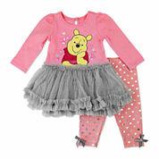 Disney Pooh Girls Legging Set NB-24M