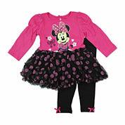 Disney Girls Legging Set-Baby