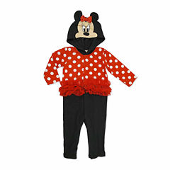 Disney Red Minnie Mouse Coverall NB-9M