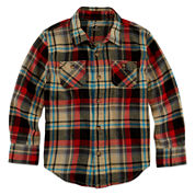 Arizona Long-Sleeve Flannel Shirt - Preschool Boys 4-7