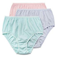 Underscore® 3-pk Cotton High-Cut Panties