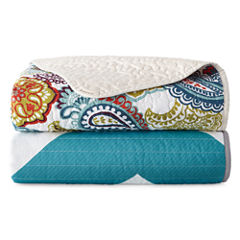 Mi Zone Leo Quilted Throw