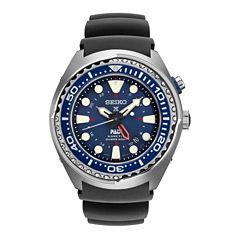 Seiko Dive Mens Blue Strap Watch-Sun065