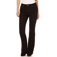 St. John's Bay® Back Flap Pocket Bootcut Jeans