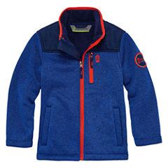 Free Country Sweater Fleece Jacket - Boys