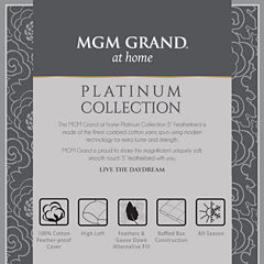 Mgm Grand At Home Platinum Collection 5 Featherbed Featherbed