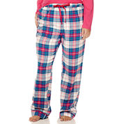 Liz Claiborne® Flannel Pants - Plus
