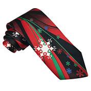 Hallmark® Fantasy Snowflake Tie - Extra Long