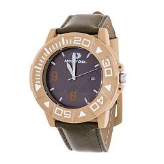 Mossy Oak Mens Brown Bracelet Watch-Mow080be-Ol