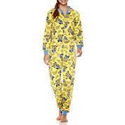 Minons Long Sleeve One Piece Pajama