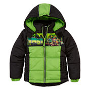 Boys Heavyweight Puffer Jacket-Preschool