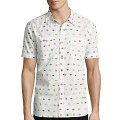 Levi's® Rear Short-Sleeve Woven Shirt