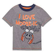Arizona Short-Sleeve Raglan Tee - Toddler Boys 2t-5t
