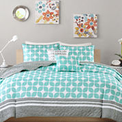 Intelligent Design London Coverlet Set