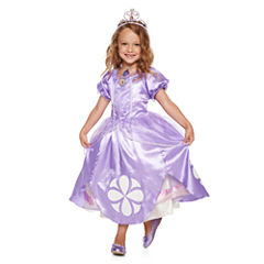 Disney Collection Sofia Costume, Amulet, Tiara or Shoes