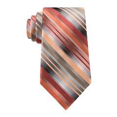 Van Heusen® Mission Stripe Silk Tie and Tie Bar