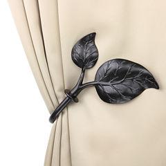 Rod Desyne Decorative Holdbacks with Ivy Finial
