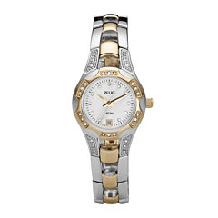 Relic® Womens Mother-of-Pearl Watch ZR11761
