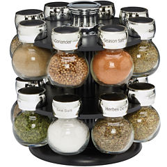Kamenstein Ellington 16-Jar Revolving Spice Rack