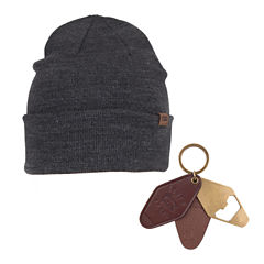 Levi's Beanie and Key Fob Bottle Opener Set