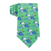 Peanuts Easter Snoopy With Basket Tie