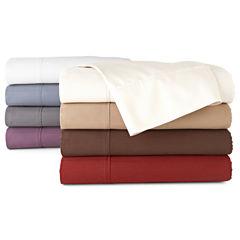 Royal Velvet® 400tc Set of 2 Pinstripe Egyptian Cotton Sateen Pillowcases