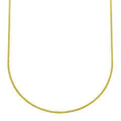 Made in Italy 18K Yellow Gold Box Chain Necklace