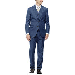 Stafford® Travel Medium Blue Suit Separates - Slim Fit