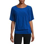 Alyx® Short-Sleeve Knit Stripe Dolman Top