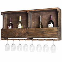 Pomona Reclaimed Wood Wine Rack