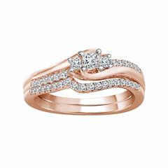 tw white diamond 10k gold engagement ring - Jcpenney Wedding Rings