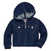 Levi's Girls Denim Jacket-Baby