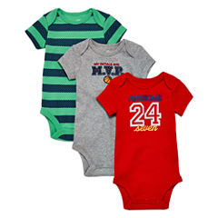 Okie Dokie 3-Pack Red Bodysuit