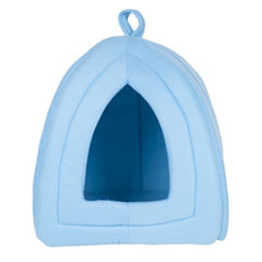 Petmaker Cozy Kitty Tent Igloo Plush Enclosed Cat Bed