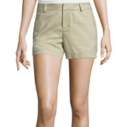 Stylus™ Twill Cotton Shorts