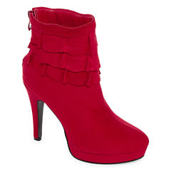 2 Lips Too Larz Womens Bootie