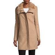 Liz Claiborne® Wool-Blend Coat