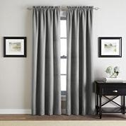 Addison Twill Rod-Pocket Curtain Panel