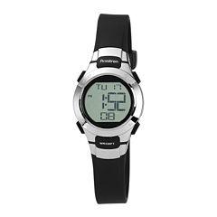Armitron Womens Black Strap Watch-45/7012blk