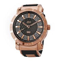 JBW 562 Mens 1/8 CT. T.W. Diamond Two-Tone Watch JB-6225-L