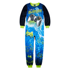 Cuttlebug Not Applicable Long Sleeve One Piece Pajama-Preschool Boys Average Figure