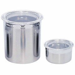 Studio Line Stainless Steel Canister Set 2pc