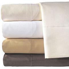 American Heritage 800tc Cotton Sateen Solid Sheet Set
