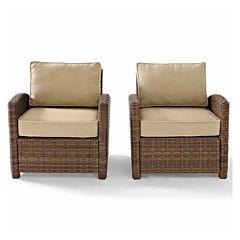 Bradenton Wicker 2-pc. Patio Lounge Chair