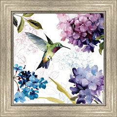 Spring Nectar Square II Framed Print Wall Art